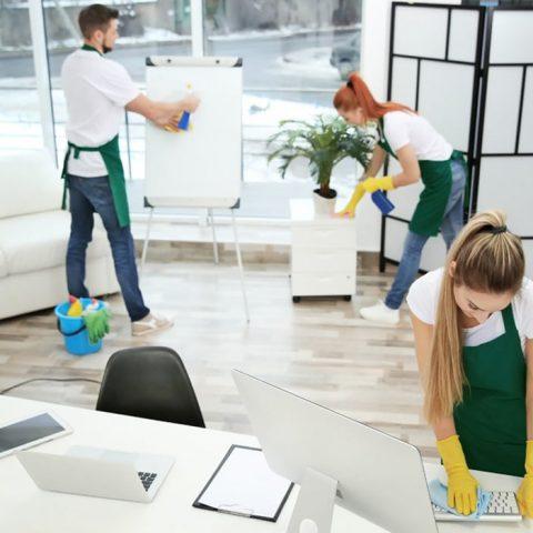 Société de nettoyage